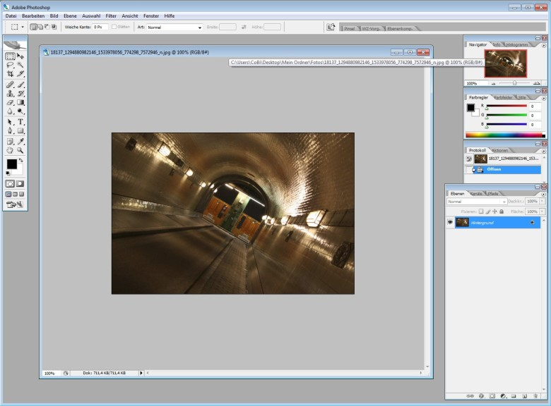 Screenshot 1 - Adobe Photoshop CS2 – Vollversion