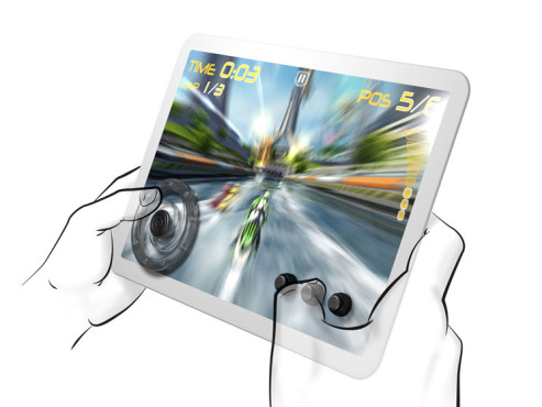 SteelSeries Free Touchscreen Gaming Controls © SteelSeries