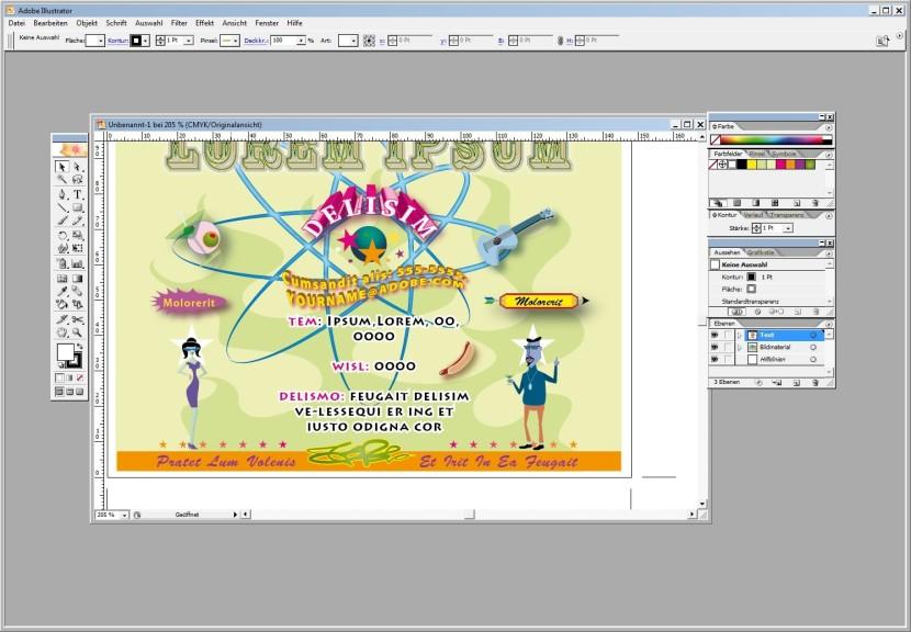 Screenshot 1 - Adobe Illustrator CS2 – Vollversion