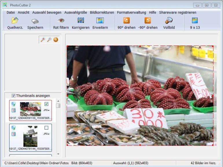 Screenshot 1 - PhotoCutter