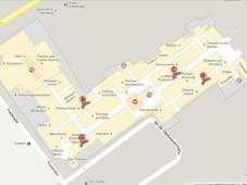 Grundriss des Alsterhaus von Google Maps©COMPUTER BILD