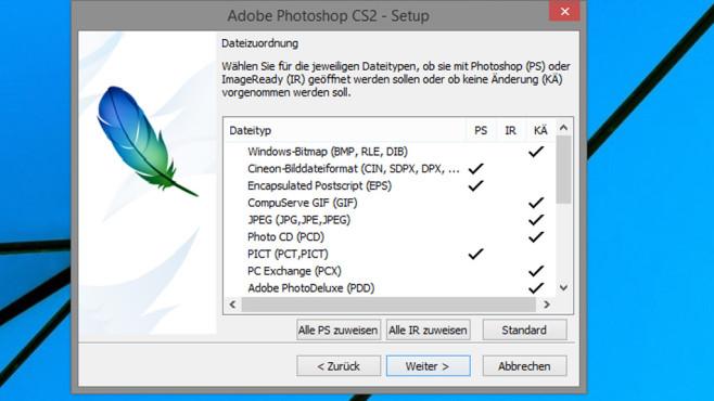 Schritt 8: Dateiformate zuweisen ©COMPUTER BILD