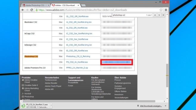 Zuordnen der Dateitypen ©COMPUTER BILD