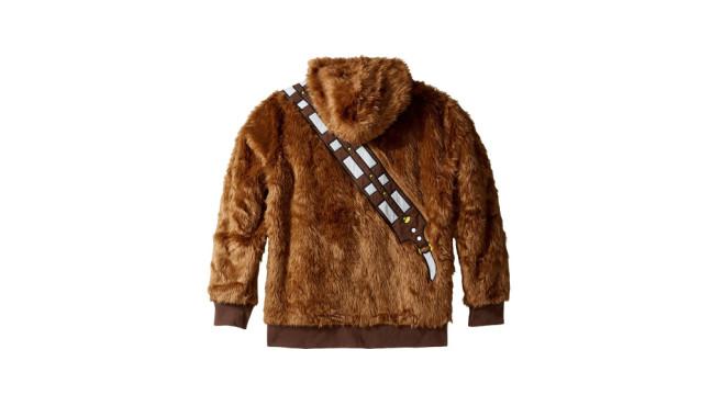 Karneval: Heiße Kostüme für coole Gamer Warmes Wookieefell hält auch noch nach 3 Stunden auf der Kö warm.©Star Wars