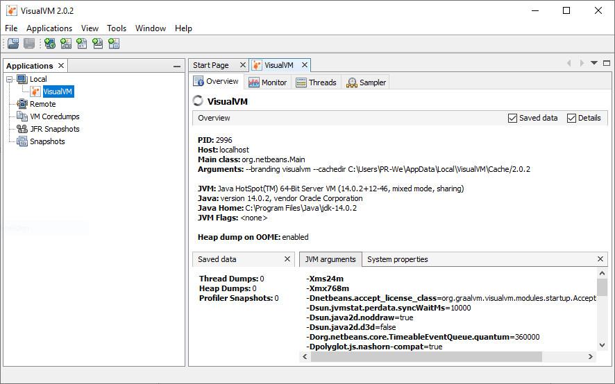 Screenshot 1 - JDK (Java Development Kit, 64 Bit)