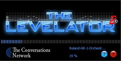 Screenshot 1 - The Levelator