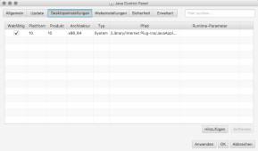 Java Runtime Environment (JRE) (Mac)