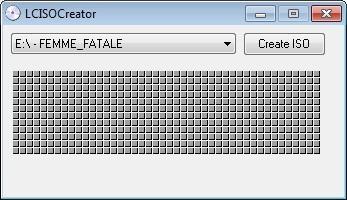 Screenshot 1 - LCISOCreator