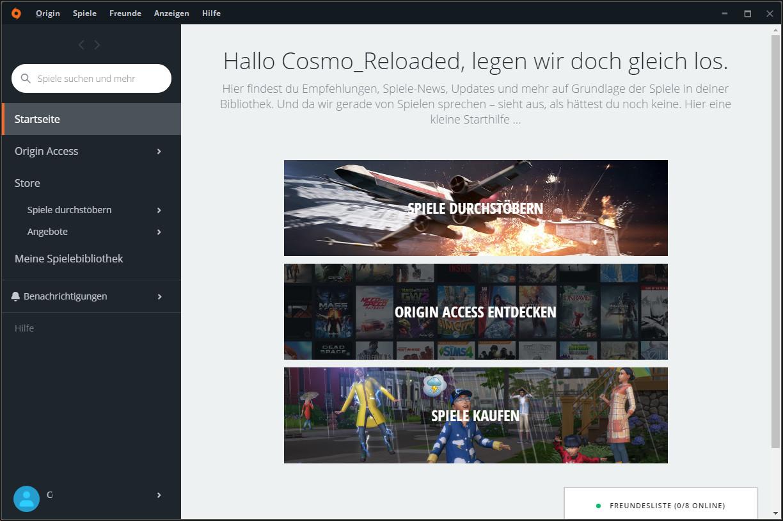 Screenshot 1 - Origin-Installer