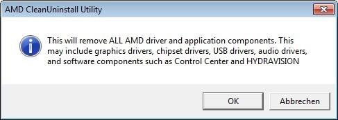 Screenshot 1 - AMD Cleanup Utility
