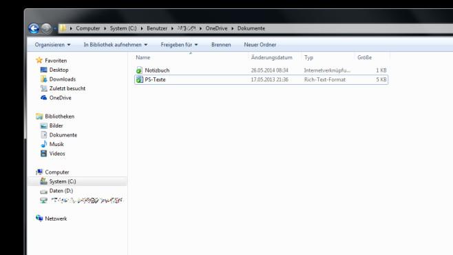 OneDrive am PC nutzen ©COMPUTER BILD