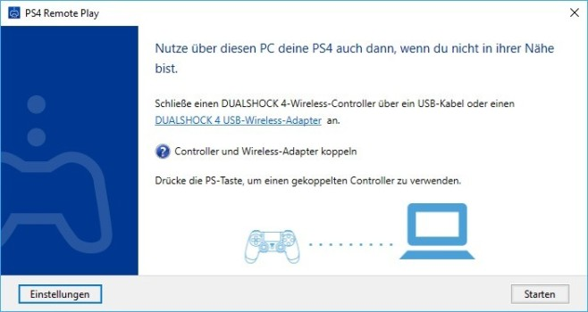 PS4 Remote Play ©Sony Interactive Entertainment