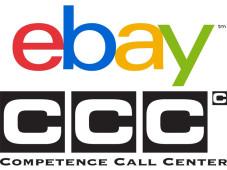 Logos von Ebay und dem CCC-Callcenter Berlin©Montage: COMPUTER BILD