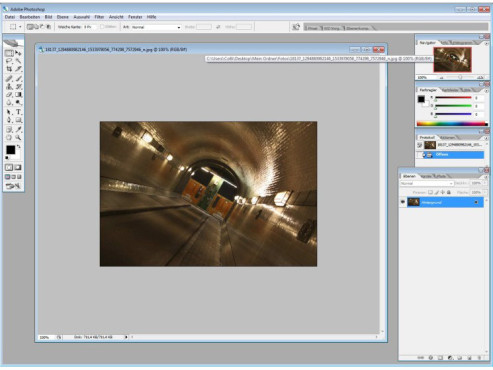 Adobe Photoshop CS2 ©COMPUTER BILD