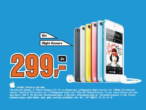Apple iPod touch 5G 32GB ©Saturn