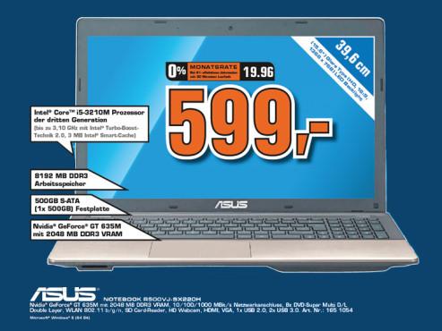 Asus R500VJ-SX220H ©Saturn