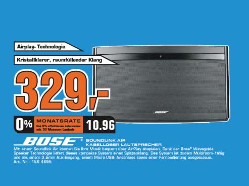 Bose SoundLink Air Digital Music System ©Saturn