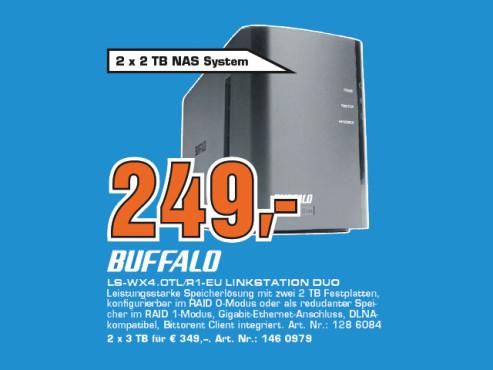 Buffalo LinkStation Duo 4TB ©Saturn