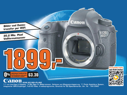 Canon EOS 6D Body ©Saturn