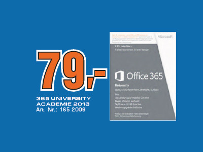 Microsoft Microsoft Office 365 University PKC (Win) (DE) ©Saturn