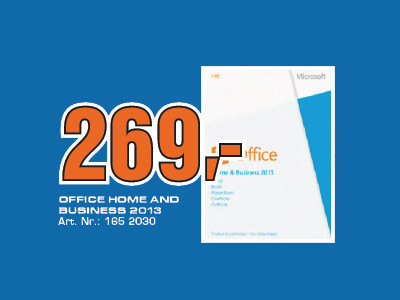 Microsoft Office Home and Business 2013 (PKC) (Win) (DE) ©Saturn