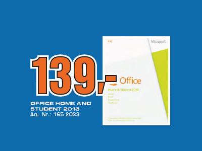 Microsoft Office Home and Student 2013 PKC (EDU) (Win) (DE) ©Saturn
