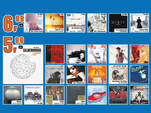 Musik-CDs (Special Editions) ©Saturn