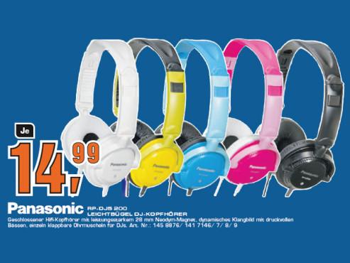 Panasonic RP-DJS200E ©Saturn