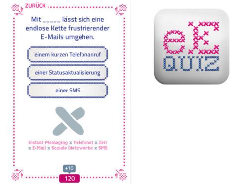eEtiquette Quiz ©Deutsche Telekom