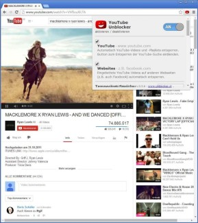 YouTube Unblocker für Chrome