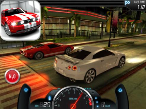 CSR Racing ©Natural Motion Games