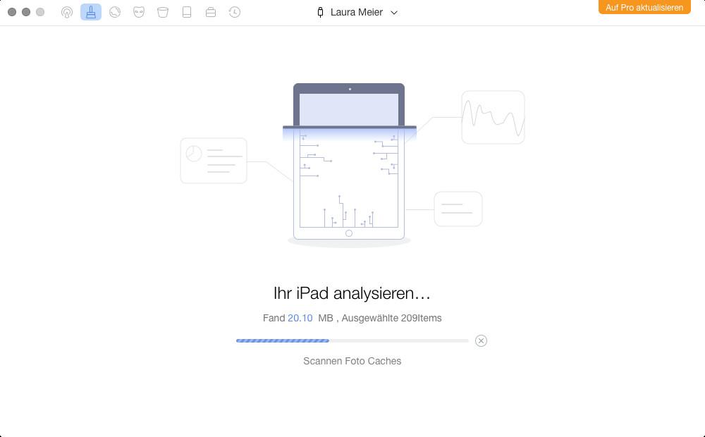 Screenshot 1 - PhoneClean (Mac)