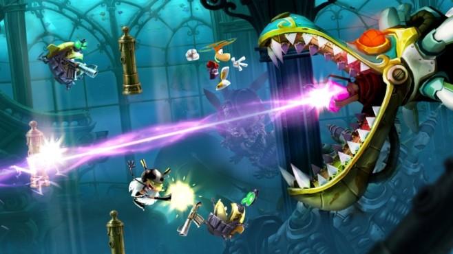 Hüpfspiel Rayman Legends©Ubisoft