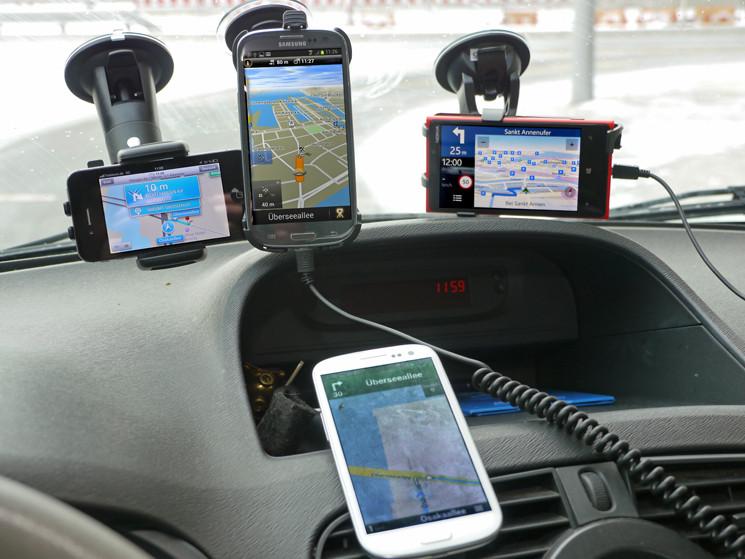 test handy navigation google maps apple maps nokia. Black Bedroom Furniture Sets. Home Design Ideas