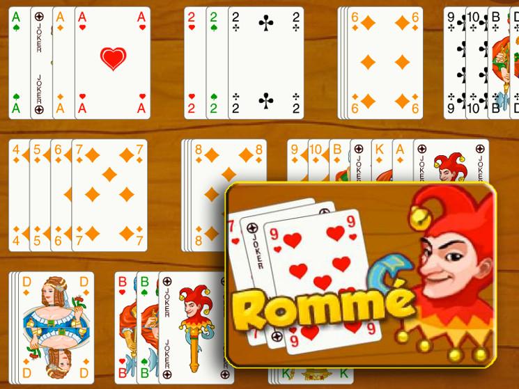 Romme Kartenspiel Regeln