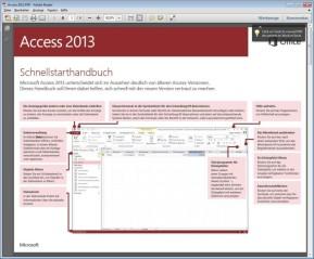 Microsoft Office 2013 (Schnellstart-Handbuch als PDF)