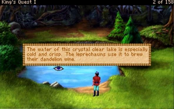 Abenteuerspiele King's Quest 1 ©Verschiedene