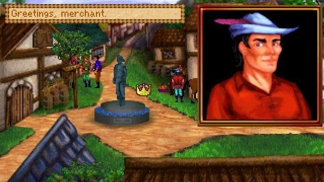 King's Quest 2: Marktplatz ©AGD Interactive