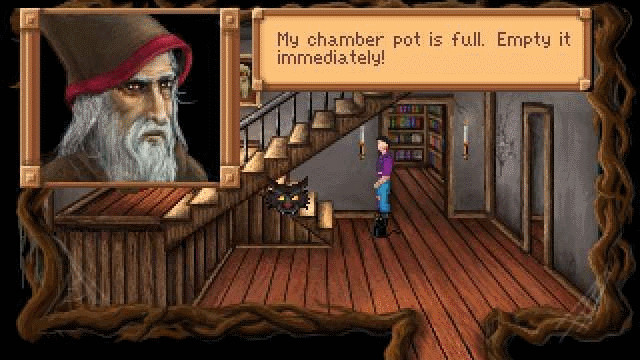 King's Quest 3: Zauberer © AGD Interactive