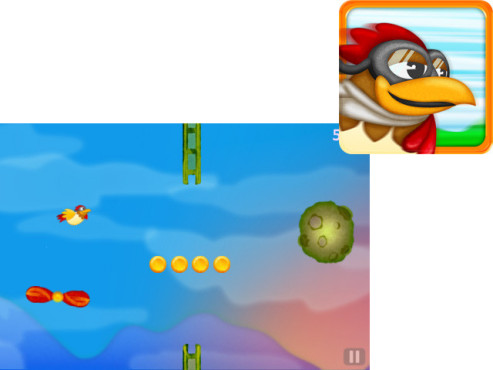 Chicken Dynamo – Tilt and Fly ©Selectsoft Publishing