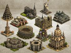 Forge of Empires die legendären Gebäude©InnoGames