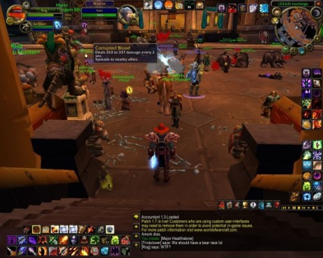 Rollenspiel World of Warcraft: Epidemie © Blizzard