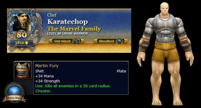 Rollenspiel World of Warcraft: Unterhose © Blizzard