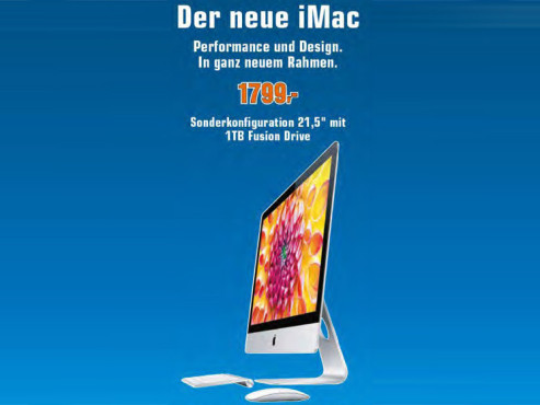"Apple iMac 21,5"" © Saturn"
