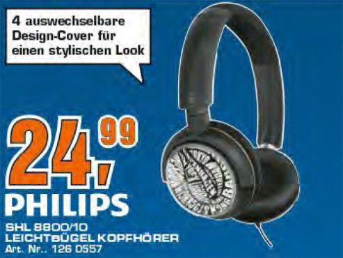 Philips SHL8800 © Saturn