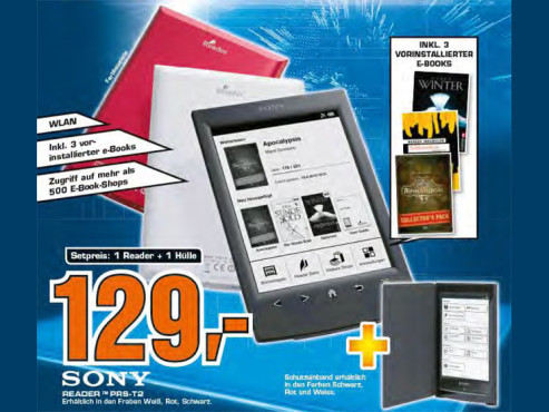 Sony Reader PRS-T2 © Saturn