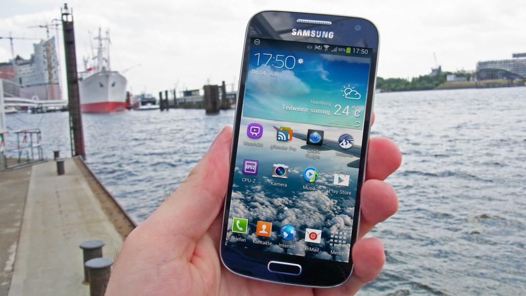 Samsung Galaxy S4 Mini©COMPUTER BILD