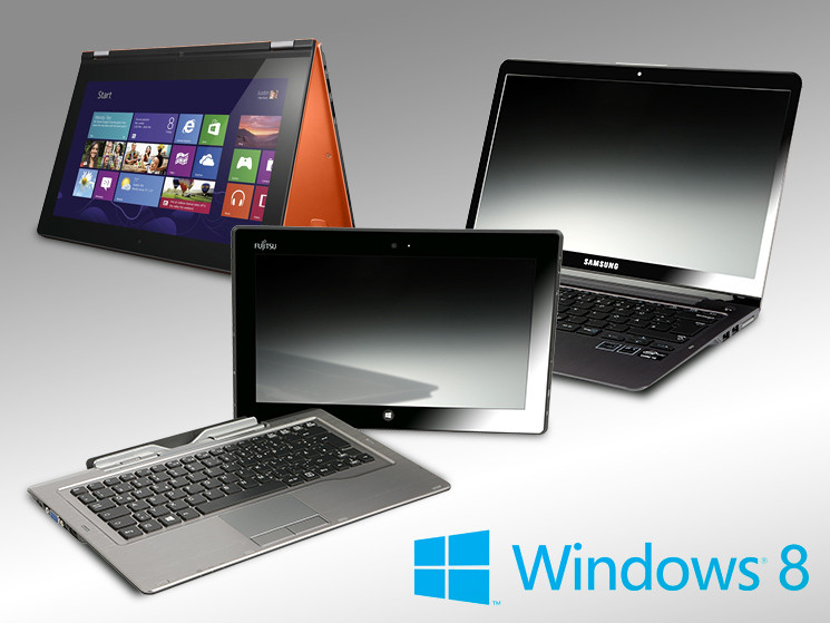 test windows 8 notebooks mit touchscreen computer bild. Black Bedroom Furniture Sets. Home Design Ideas