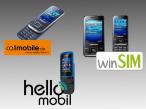 Tarif plus Handy für weniger als 100 Euro im Jahr©Samsung, Nokia, Eeteleon, callmobile, Drillisch Telecom