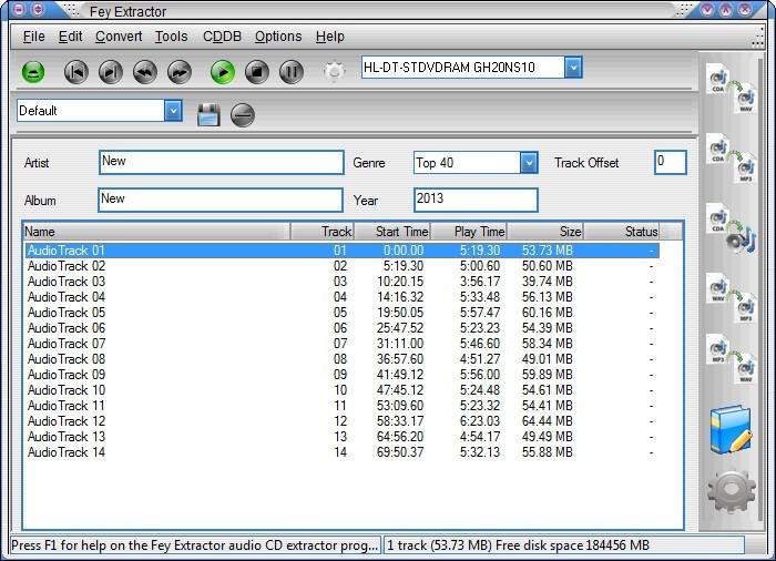 Screenshot 1 - FeyExtractor